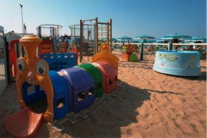 Baby Park Bagni Mara spiaggia di Senigallia