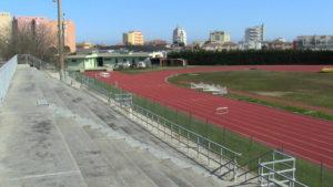 Pista atletica vicino Bagni Mara Senigallia