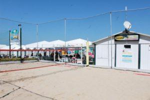 Campo da beach volley Bagni Mara mare Senigallia